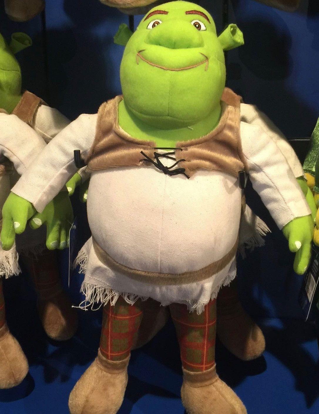 Universal Studios Baby Girl Shrek Plush Toy New With Tags