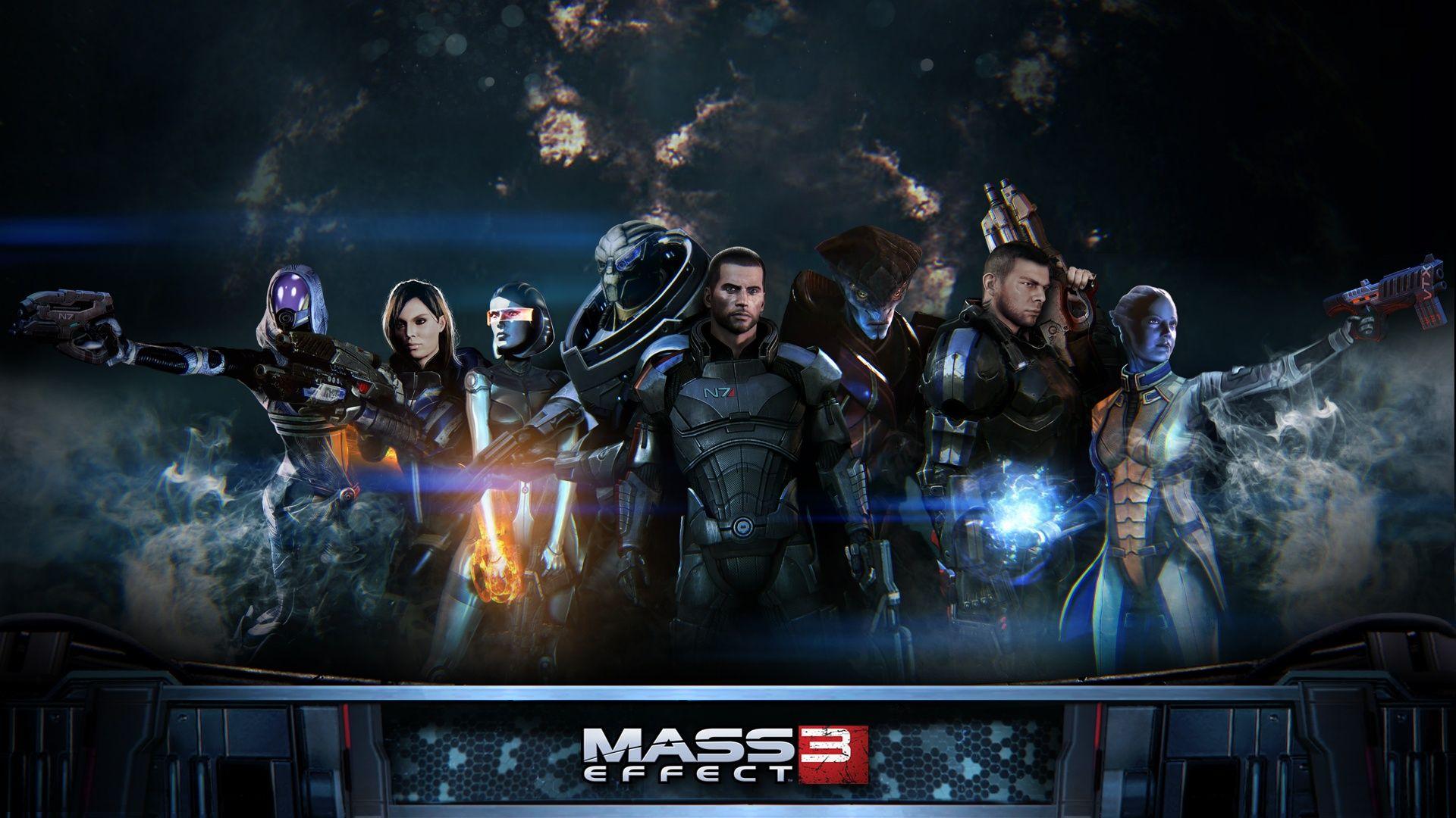 Mass Effect Wallpaper Efecto De Masa Los Originales Espanol