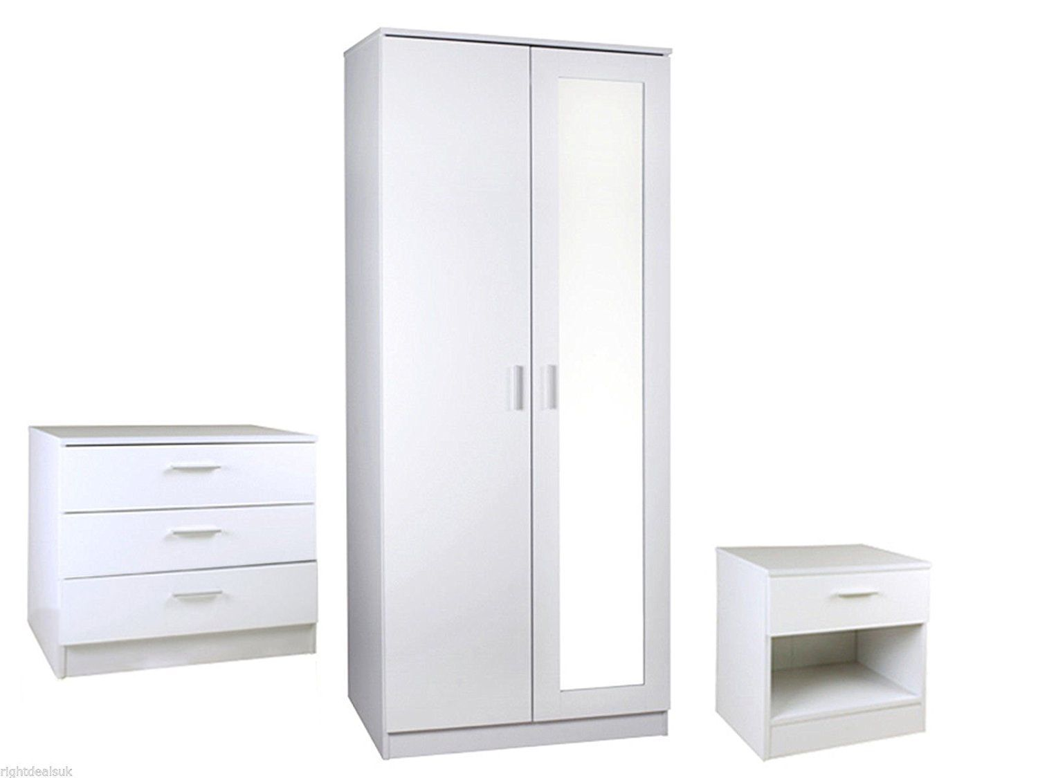 Anspruchsvoll Badmöbel Porta Referenz Von 3 Piece Bedroom Furniture Set - Wardrobe