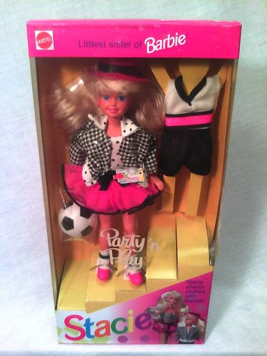 vintage 1992 party n play stacie barbie doll i had her i had completely forgotten about this one