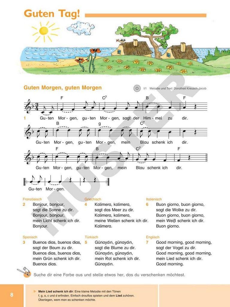 Kolibri Liederbuch 1 4 Fingerspiele Und Melodie