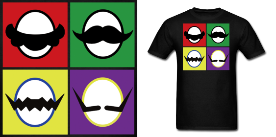 Mario Bros Mustache Bros T Shirt By Enlightenup23 Deviantart Com Mario Bros Super Mario Bros Bros