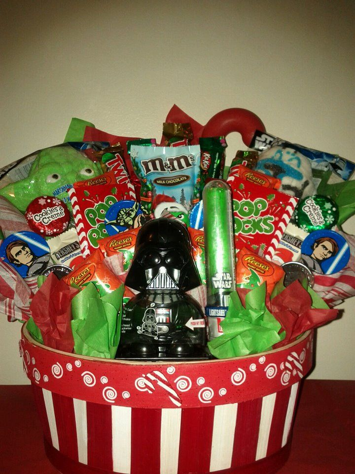 Star Wars  xmas gift basket & Star Wars