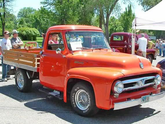 1953 Ford F100 Stake Bed First Car That Sparked Your Interest
