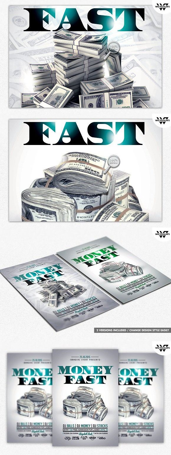 money rich flyer template flyer templates pinterest flyer