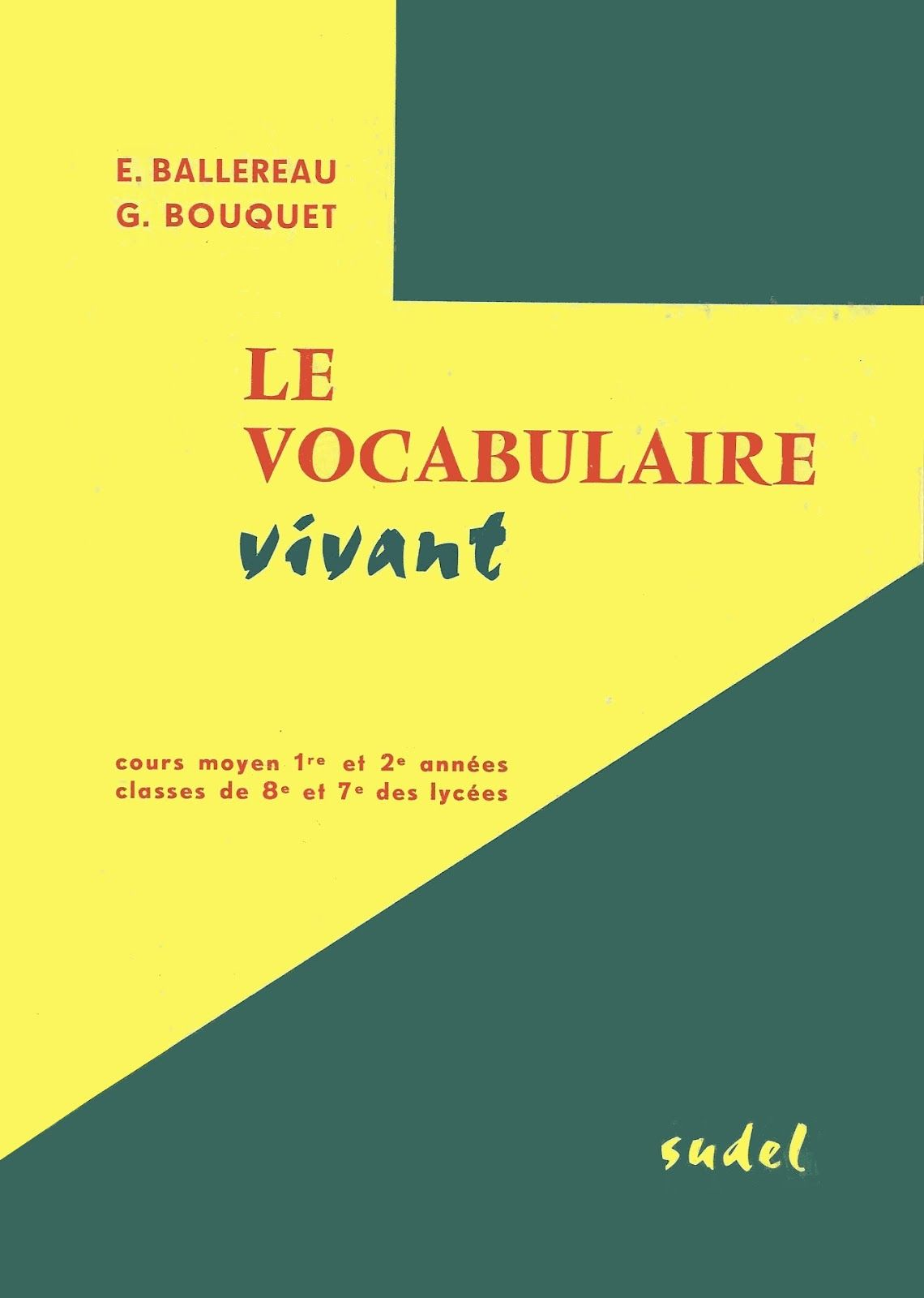 Vocabulaire Vivant Cm