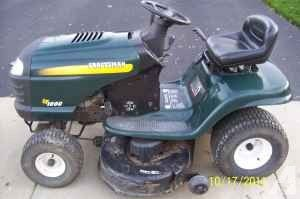 Reduced Craftsman Lt1000 Lawn Tractor 575 Johnson City Lawn Tractor Tractors Craftsman