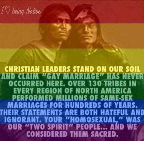 from Jalen gay marriage history native american