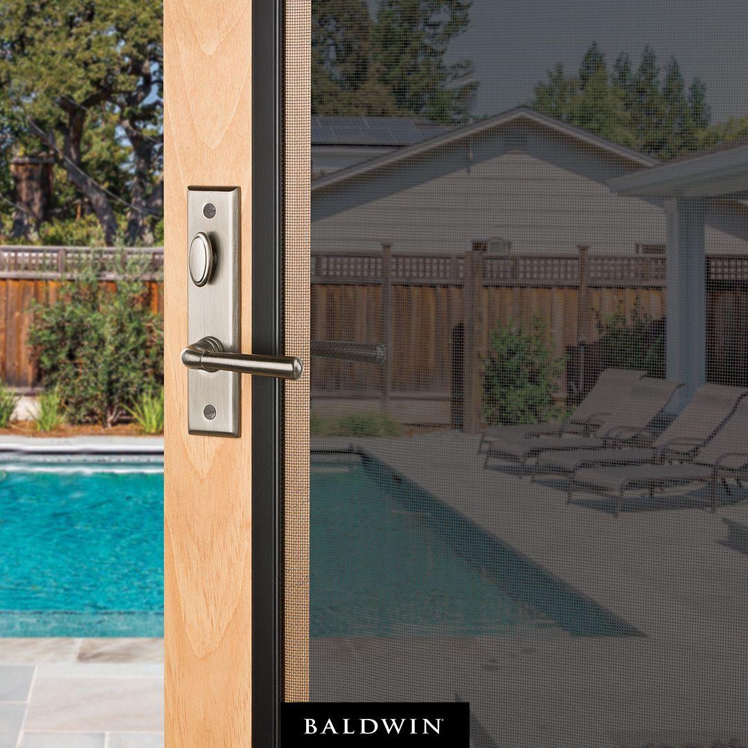 Refresh Your Home For Summer With Baldwin Screen Door Hardware