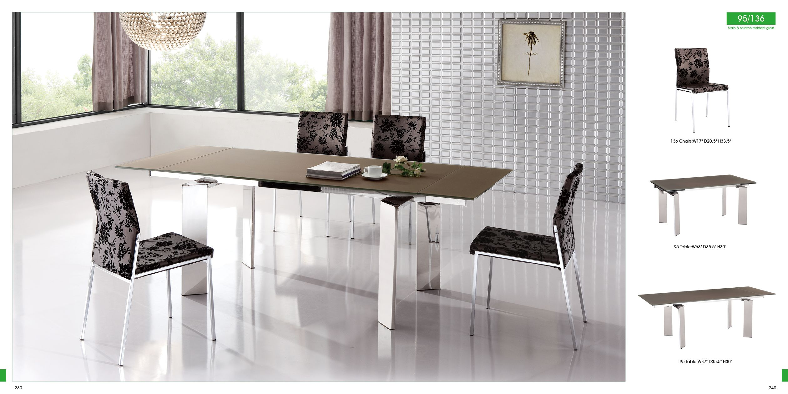Contemporary dining room sets italian dining room design ideas contemporary dining room sets italian extraordinary 95 table and 136 chairs price includes 20 discountbrown dzzzfo