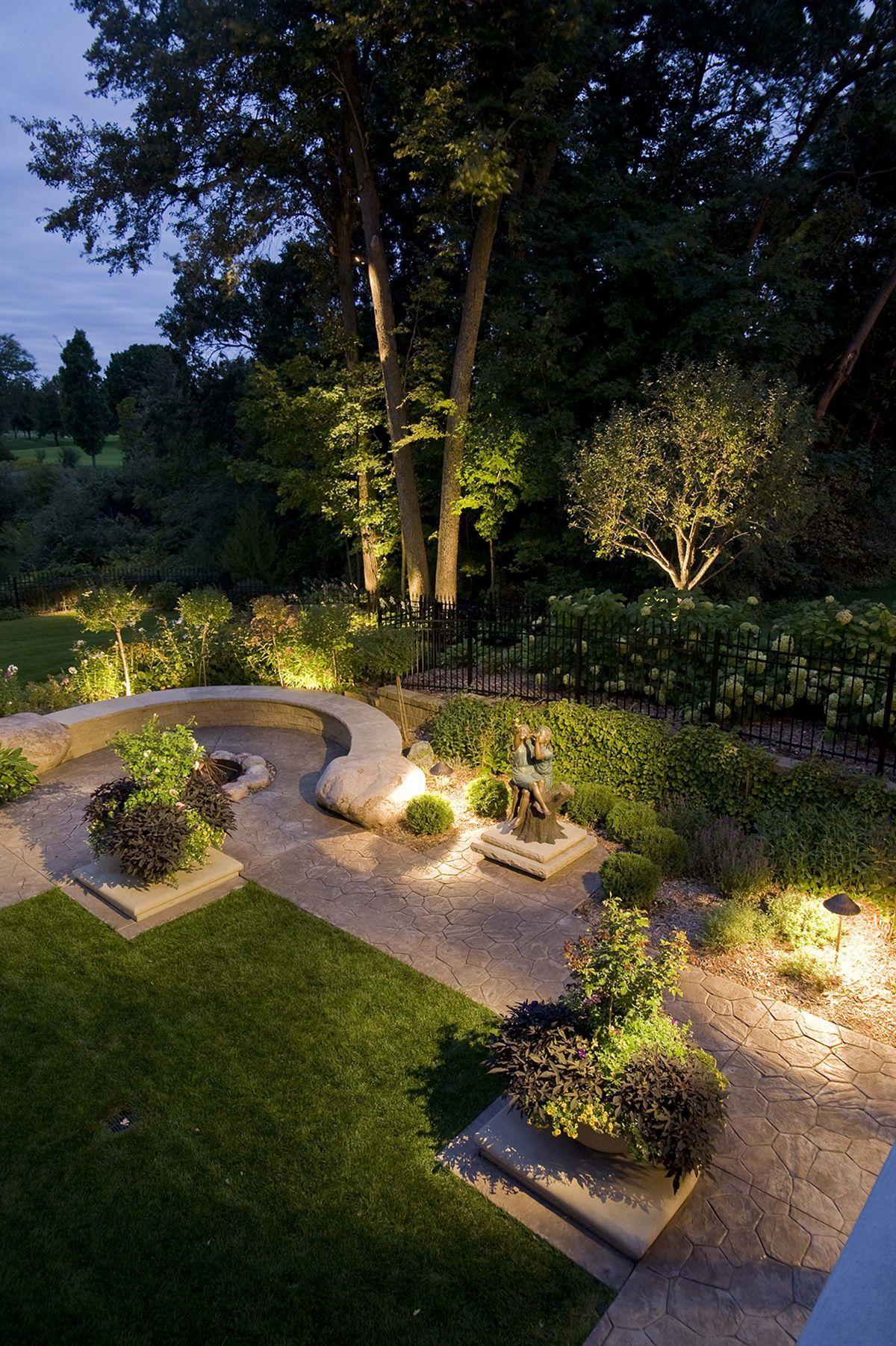 15 Most Beautiful Backyard Garden Decoration With Stunning Lighting Ideas Outdoor Landscape Lighting Outdoor Landscaping Landscape Lighting Design