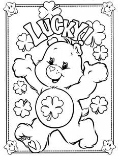 Free Printable Care Bear Coloring Pages For Kids Bear Coloring Pages Teddy Bear Coloring Pages Coloring Books
