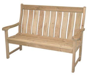 Pine Farmers Back Bench Amazon Co Uk Garden Outdoors Wooden