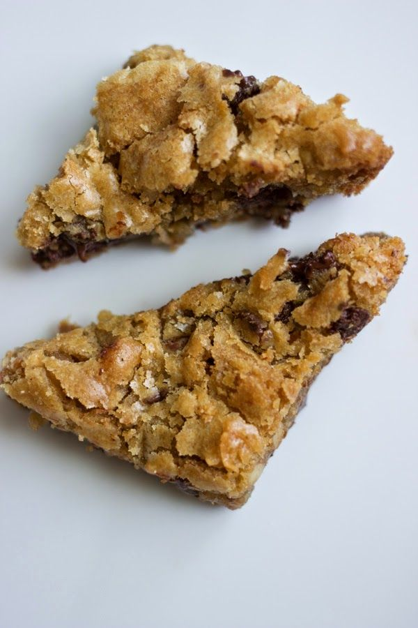 Dorie Greenspan's Chewy Chocolate Chip Walnut Blondies – The ...