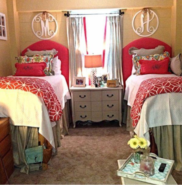 Dorm ideas dorm room ideas pinterest dorm college for Cute bedroom ideas for college girls