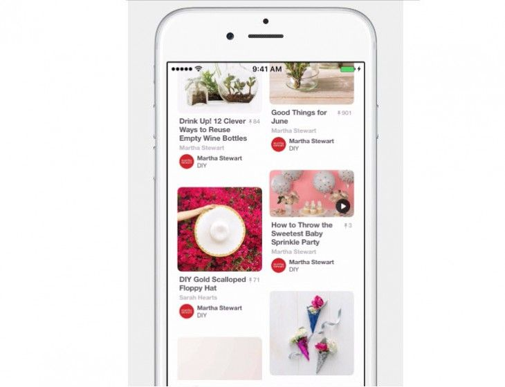 Pinterest integrará nuevas herramientas para descubrir videos - http://paraentretener.com/pinterest-integrara-nuevas-herramientas-para-descubrir-videos/