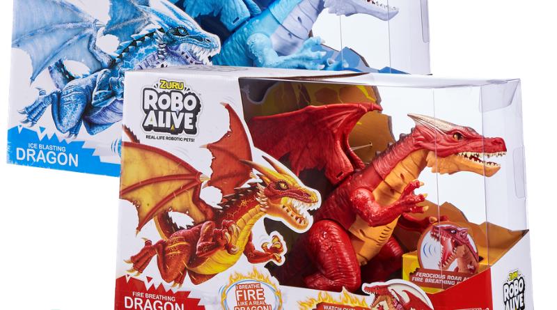 Win 1 Of 2 Robo Alive Dinosaur Packs Beaches Kids Beach Kids Dinosaur Fire Breathing Dragon
