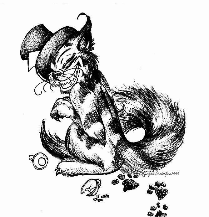 Cheshire Cat by Ocelotfire on DeviantArt | Alice | Pinterest | Dibujo