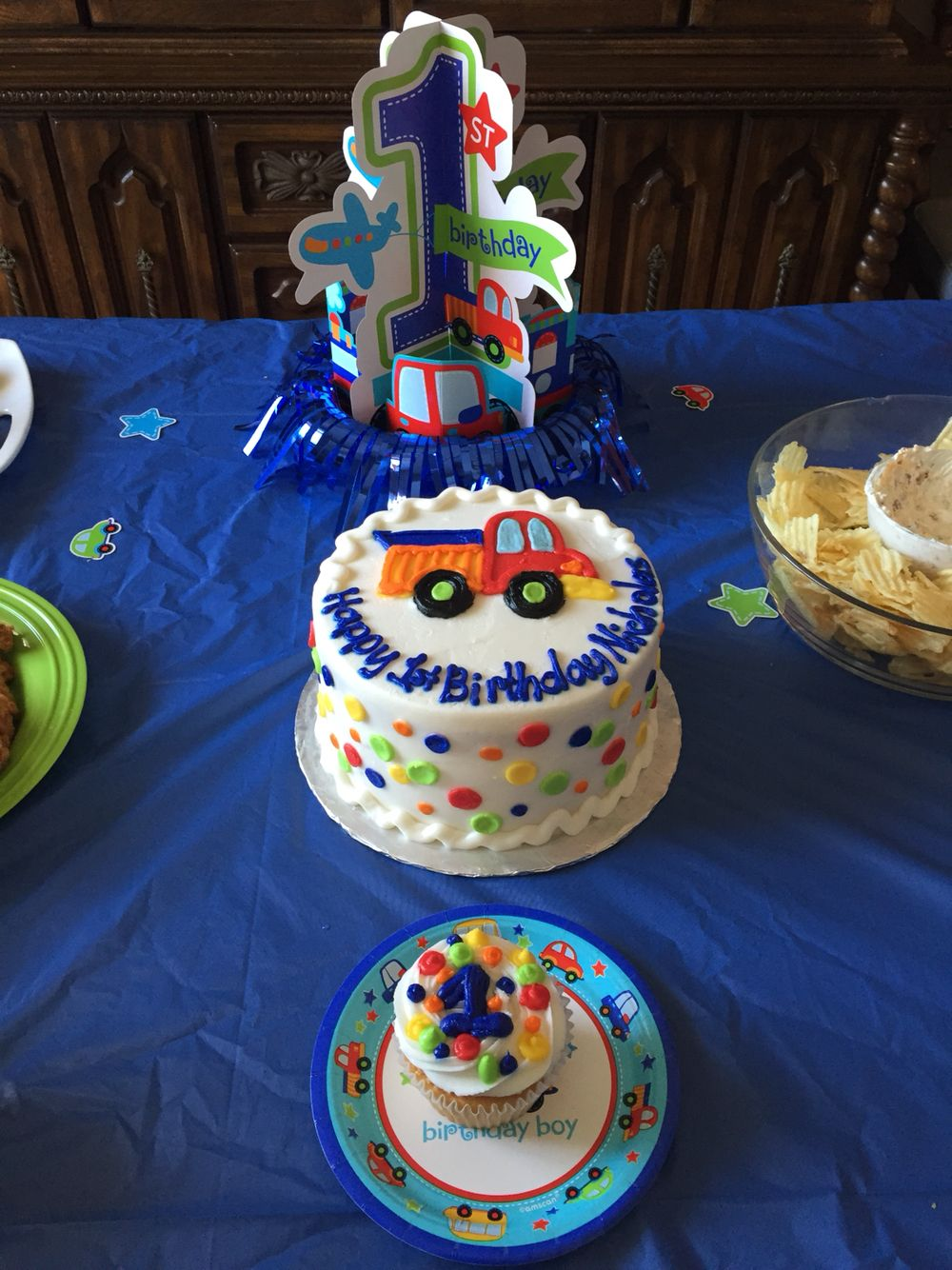 Cars, trucks, and planes 1st birthday! (With images