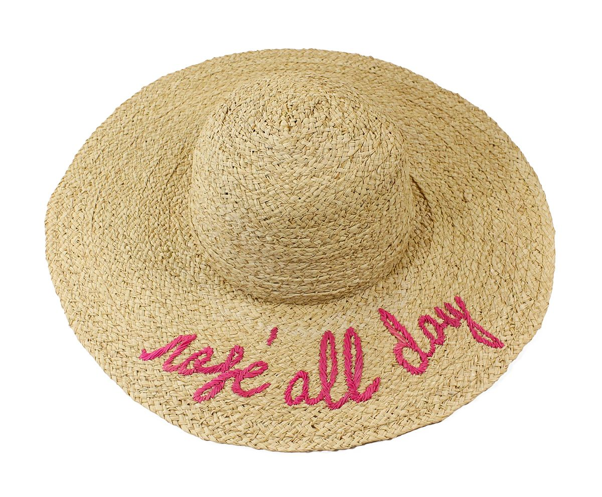 98e62306237 Hat Attack Rose All Day What s Your Motto Sunhat - Holly   Brooks   shophollyandbrooks  hatattack  rose  wine  beach  summerstyle  resortstyle