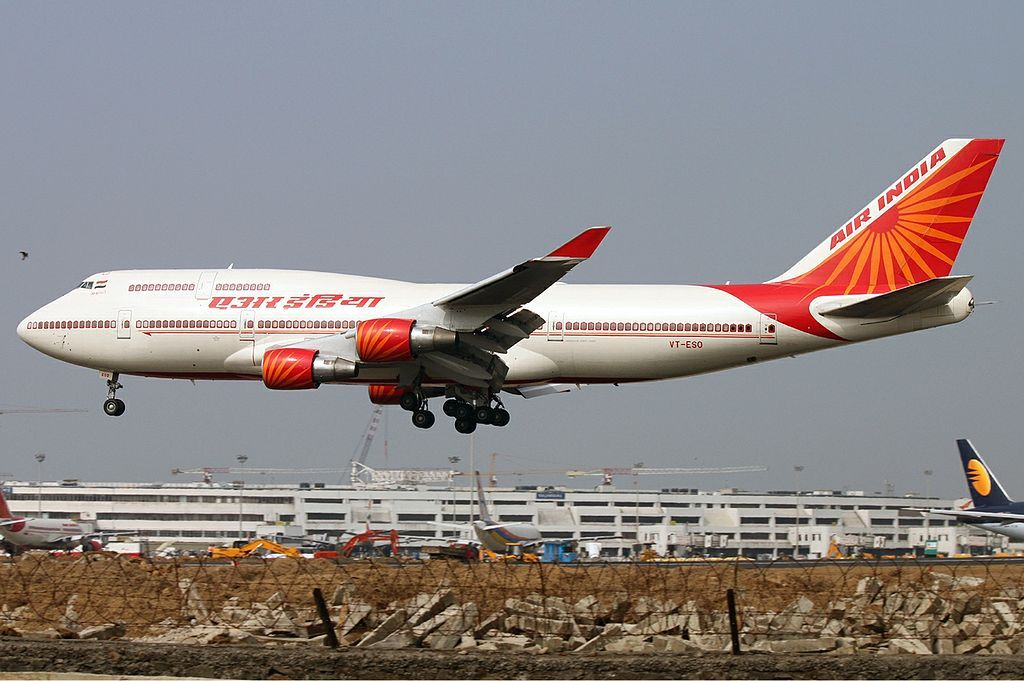 VT ESO Air India Boeing 747 437 Khajuraho at Mumbai Chhatrapati ...