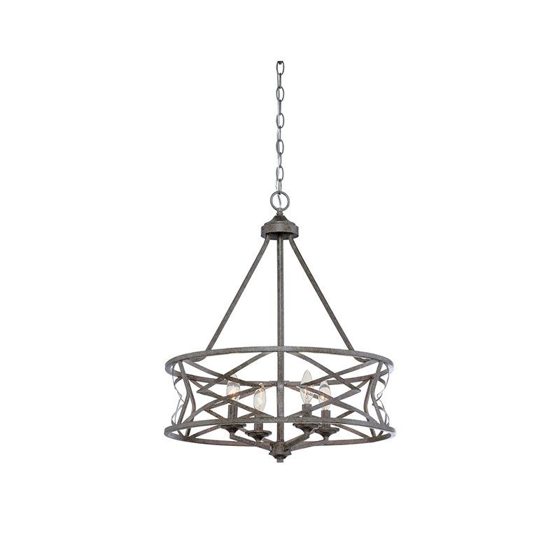 You'll love the Tokai 4-Light Candle-Style Chandelier at