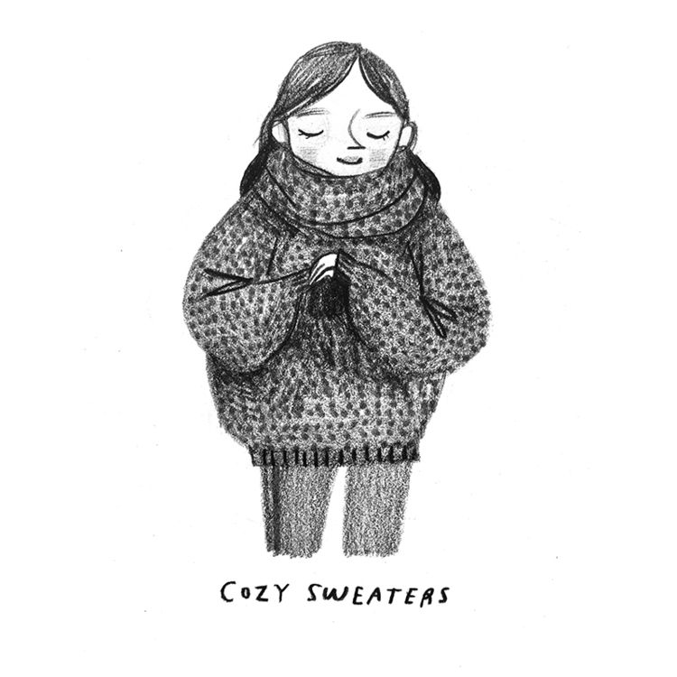 February 16 :: Cozy Sweaters — Rebecca Green | Rebecca green, Cozy sweaters,  Flow magazine