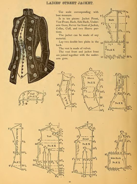 59 Victorian Dress Sewing Patterns Design Your Own Theatre Costumes
