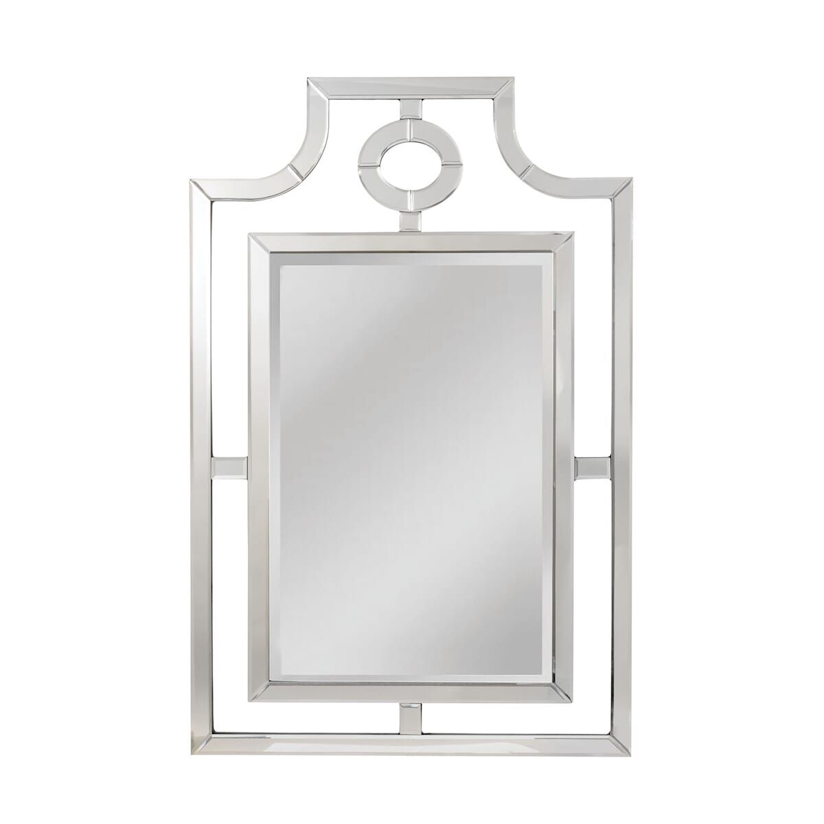Elk Fusion Of Old World Design But Updated In Transitional Mirror In Clear In 2020 Transitional Mirrors Mirror Mirrors Wayfair