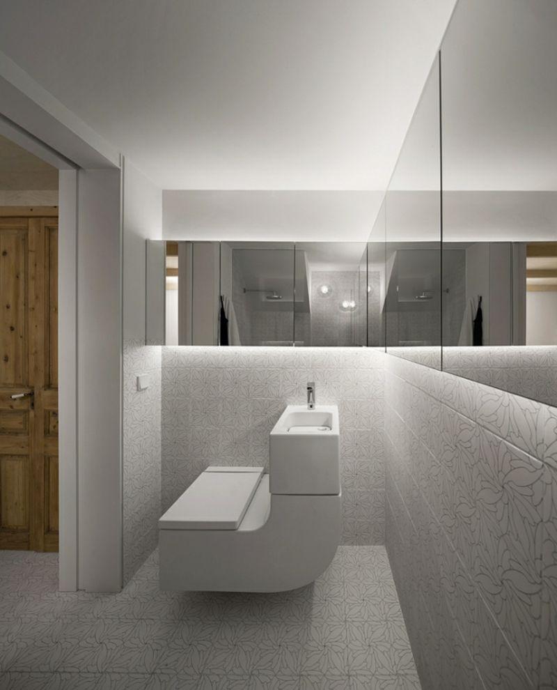 Ansprechend Badgestaltung Ideen Galerie Von Moderne Indirekte Led-beleuchtung