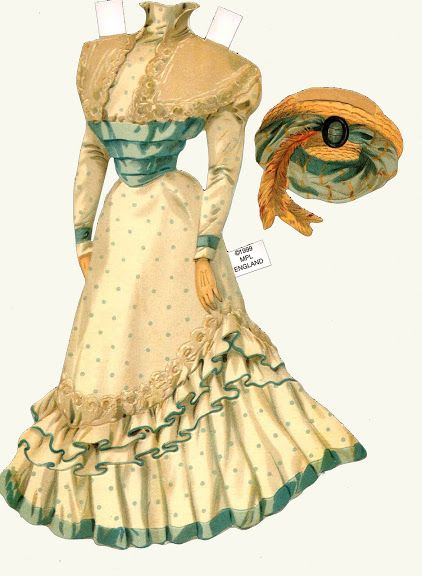 antique bridesmaid - Bobe Green - Picasa Webalbum *1500 free paper dolls at artist Arielle Gabriel's The International Paper Doll Society also free Asian paper dolls at The China Adventures of Arielle Gabriel *