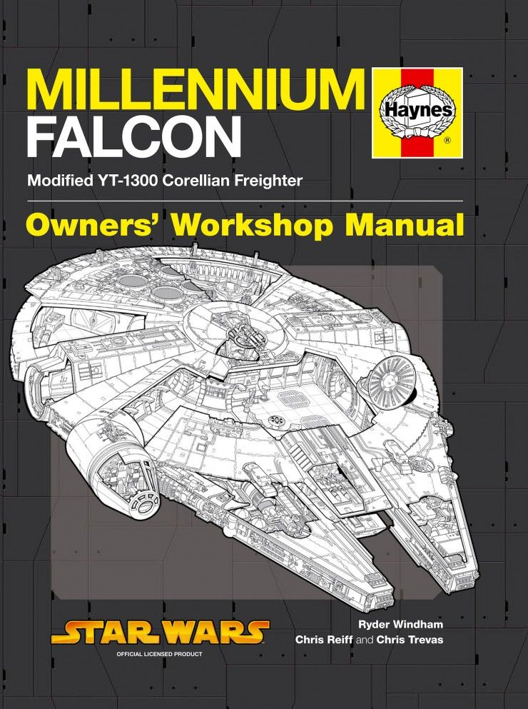 Millennium Falcon Owner's Workshop Manual #StarWars #Books
