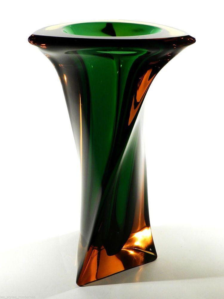 Erich Jachmann Xxl Glasvase Wmf 7kg Glas Bodenvase