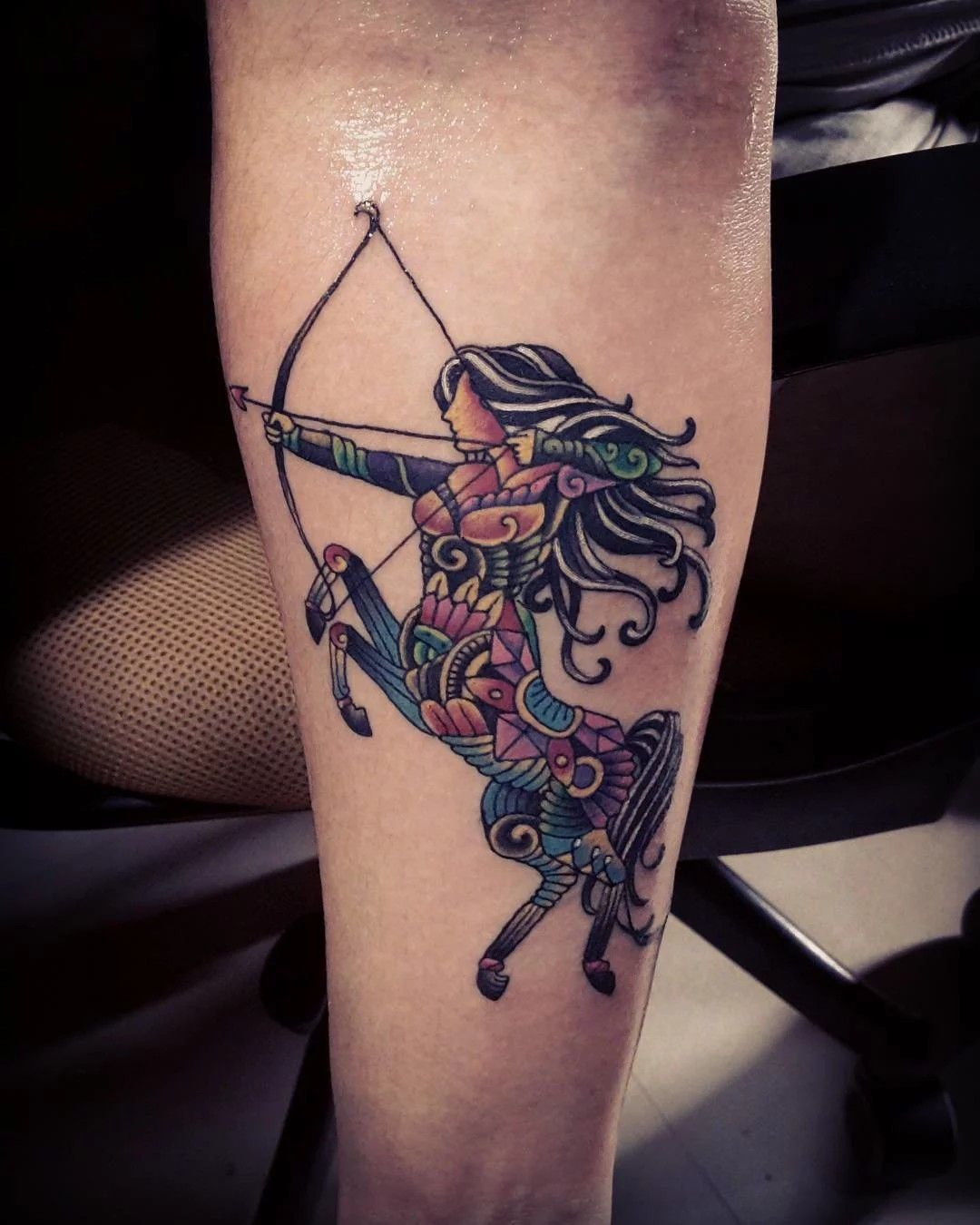 Sagittarius Archer Tattoo Tattoo Ideas Inspiration