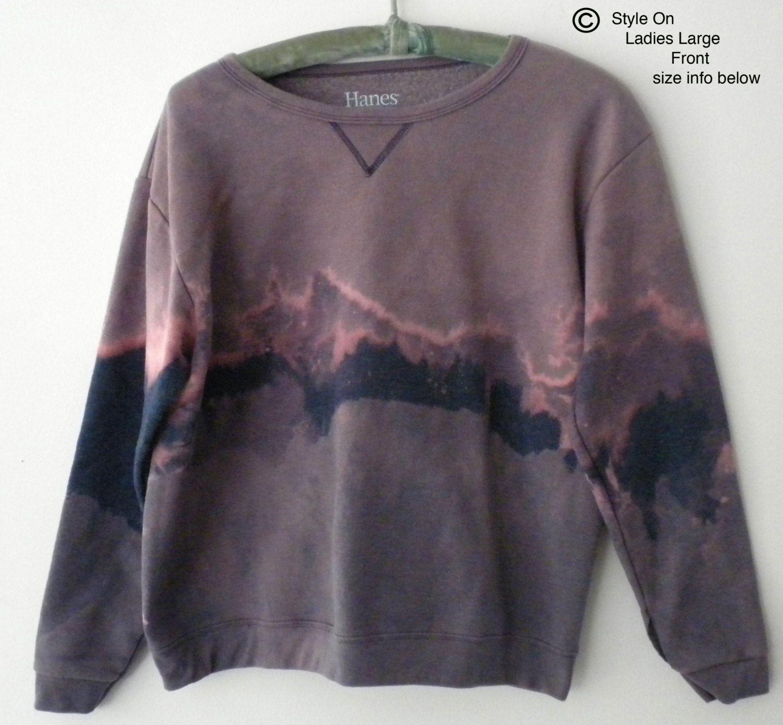 Women Sweatshirt, Purple Women's sweatshirt, Blue Sweatshirt, Pink ...