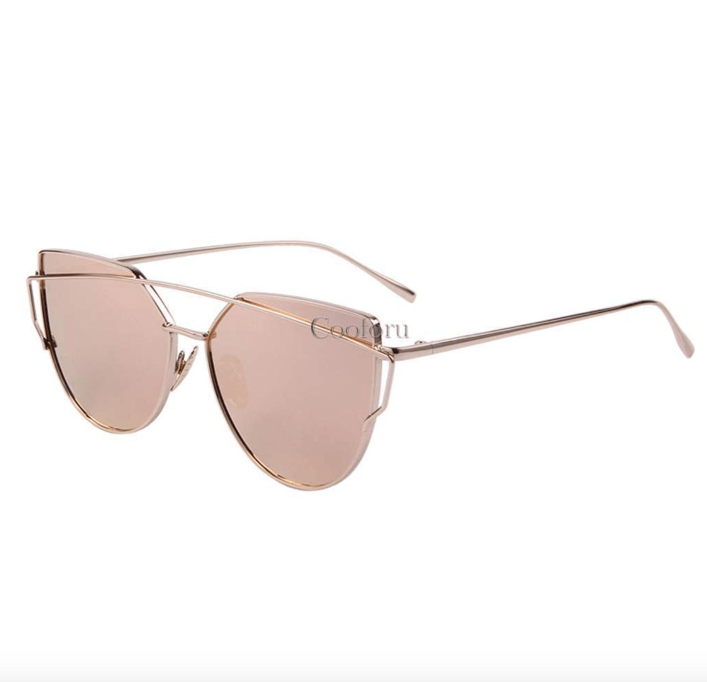 RBROVO 2018 Marque Designer Oeil De Chat Lunettes De Soleil Femmes Vintage Métal Lunettes Réfléchissantes Pour Femmes Miroir Rétro Oculos De Sol Gafas