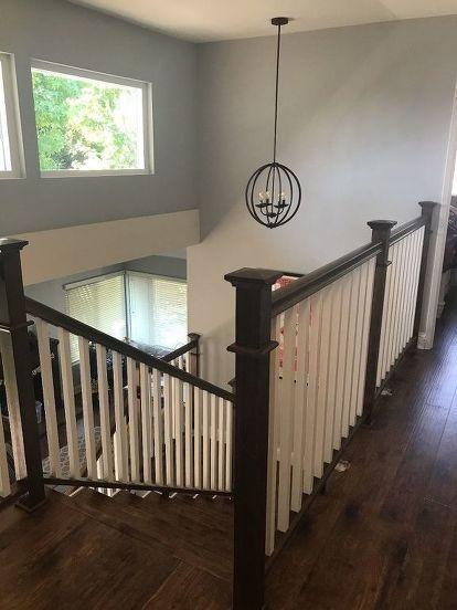 Best Stair Railing Remodel Stair Railing Stairs Diy Stair 640 x 480