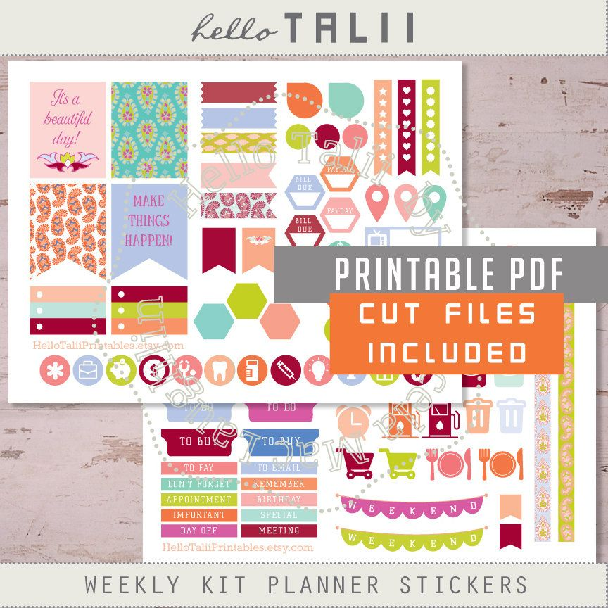 Planner Stickers Paisley For Silhouette Cricut Scanncut- Printable + Cut Files Weekly Kit Planner Stickers Pastel Arabesques Stickers Eclp Planner stickers PAISLEY for SILHOUETTE Cricut Scanncut- Printable + Cut Files Weekly kit planner stickers Pastel Arabesques stickers ECLP Orange Things 8 orange hexagon pill