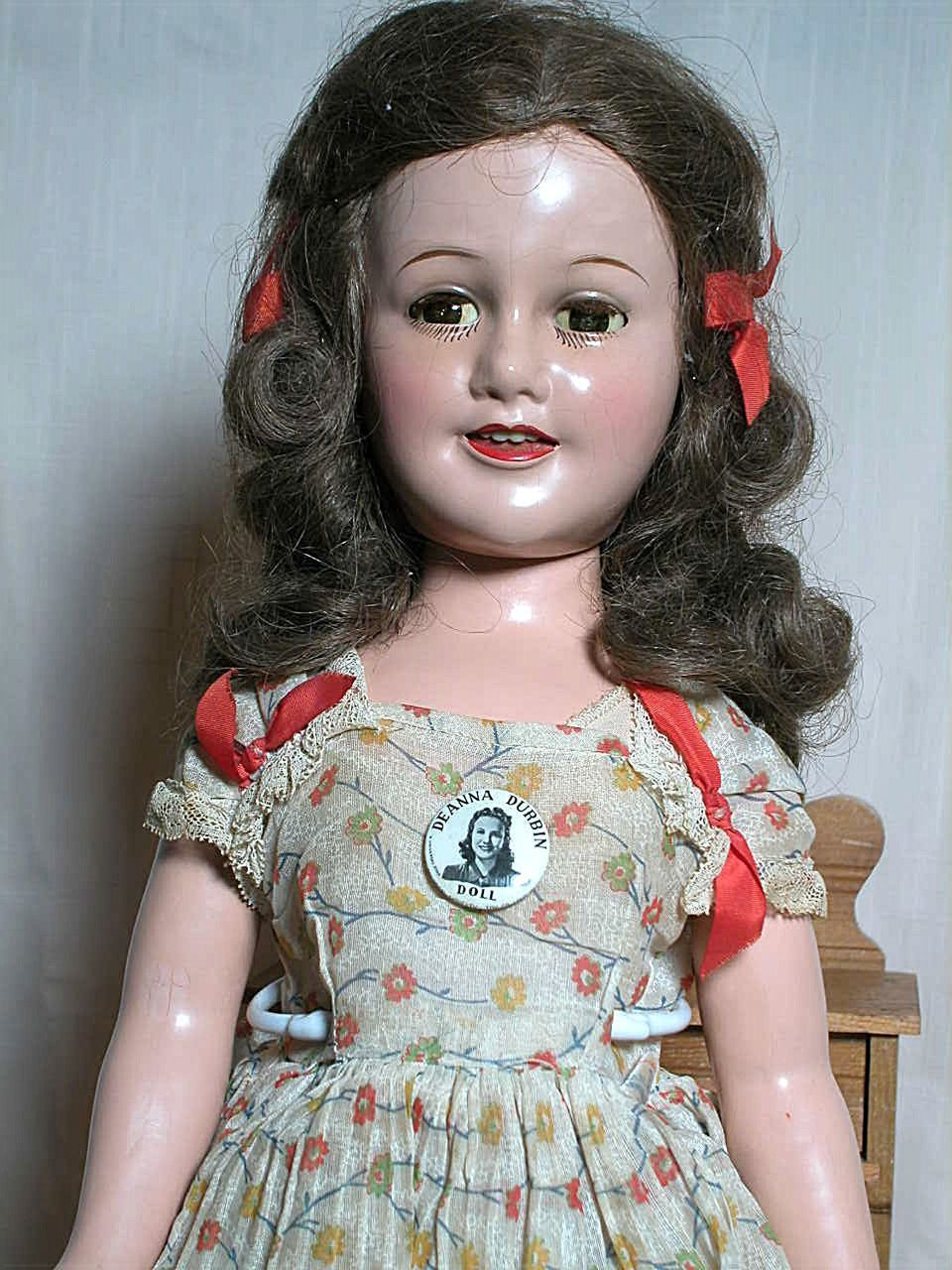 Ideal Deanna Durbin Composition Doll All Original Tag