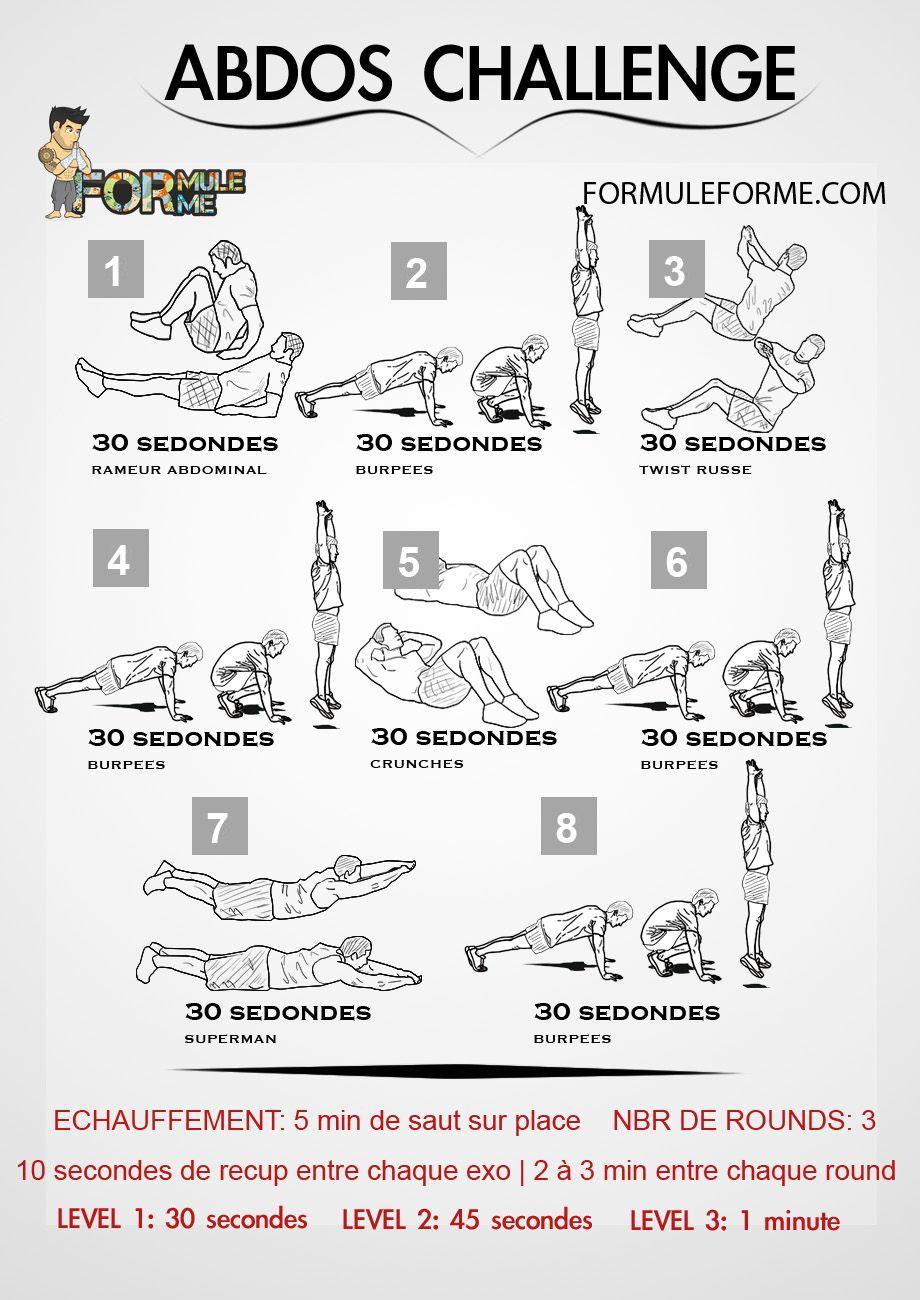 exercice musculation abdos femme
