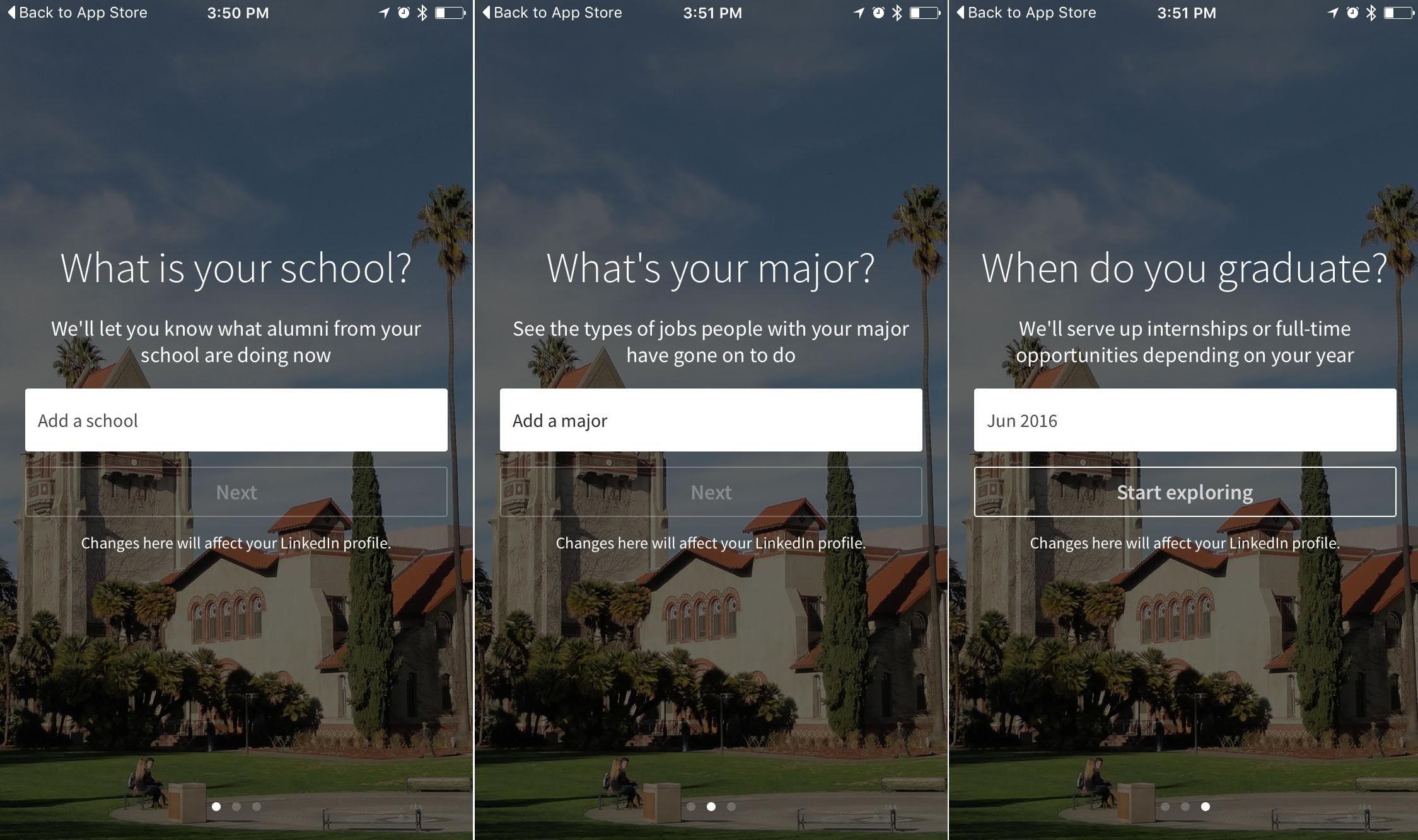 Linkedins newest app helps college grads find jobs