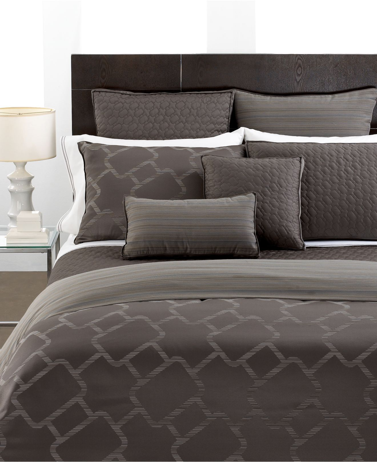 Hotel Collection Bedding Gridwork - Bed & Bath