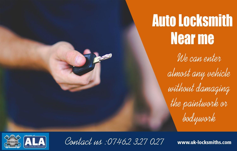 Auto Locksmith Near me Call 07462 327 027 uk