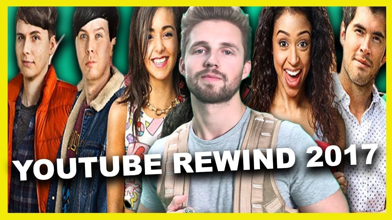 REACTING TO ME IN YOUTUBE REWIND 2017 - YouTube