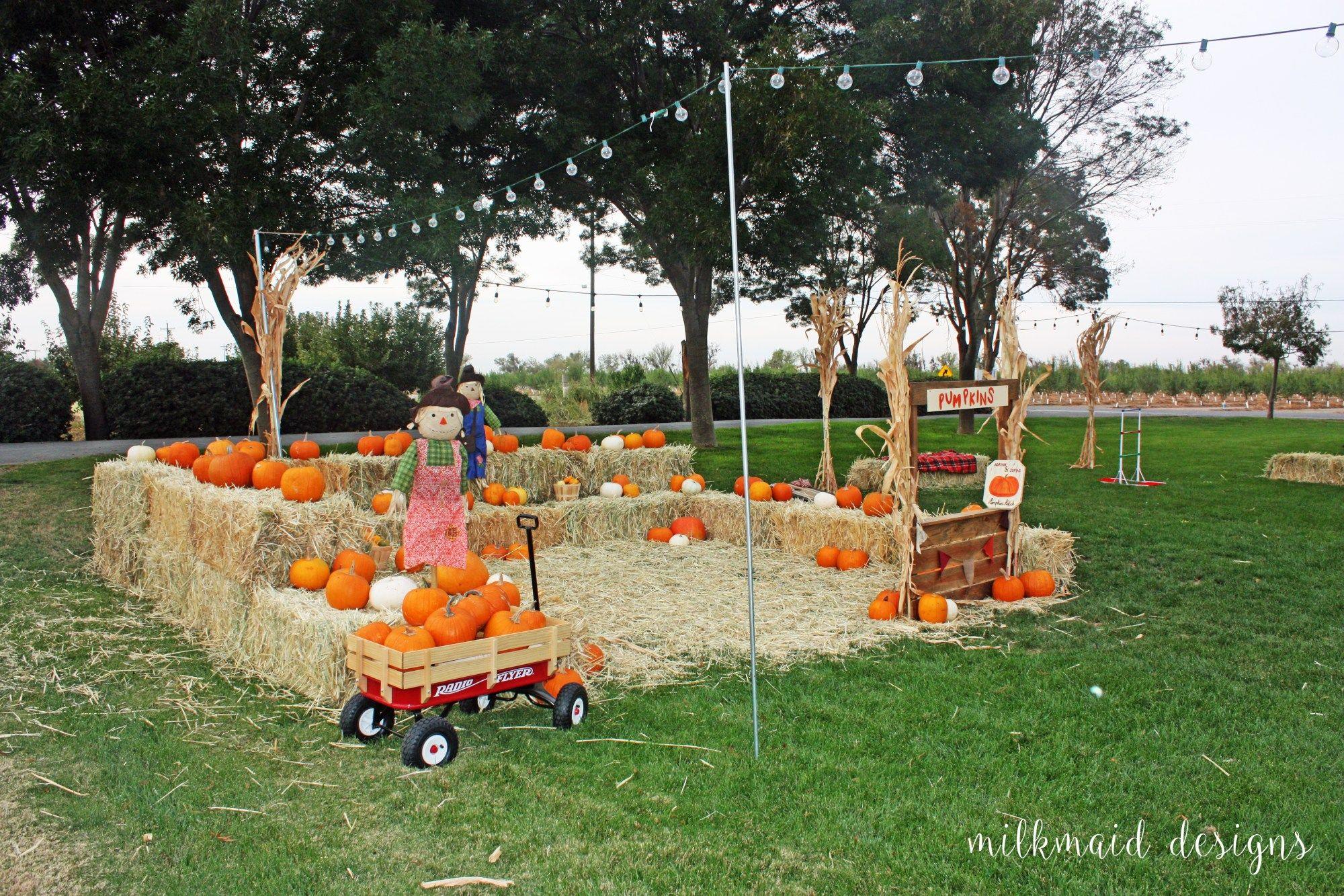 kids pumpkin patch fall first birthday http www milkmaiddesigns
