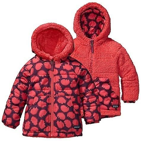 Free Shipping! Patagonia Baby Reversible Tribbles Jacket - Pokey Dot/ Coral - in stock now. DECENT FEATURES of the Patagonia Baby Reversible Tribbles Jacket Wind-resistant quilted shell is... More Details