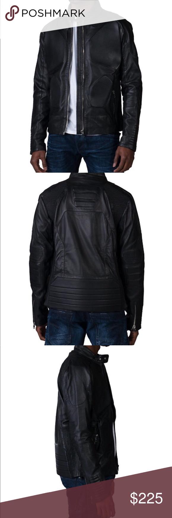Hudson Outerwear Black Leather Moto Jacket Men S Men S Hudson Outerwear Black Leather Moto Jac Black Leather Moto Jacket Outerwear Jackets Leather Jacket Men [ 1740 x 580 Pixel ]