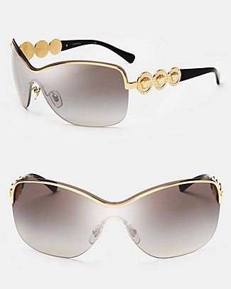 351f6b36c1 Versace Rock Icons Shield Sunglasses