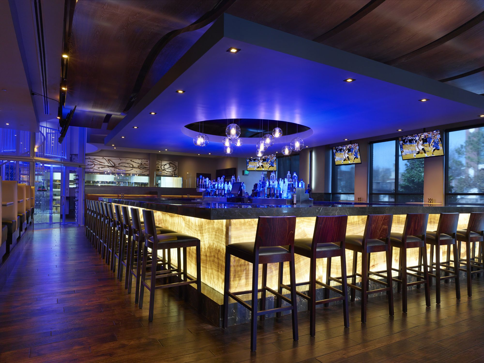 Used Kitchen Cabinets Okc The Bar Area At Kevin Durant 39s Southern Cuisine Restaurant