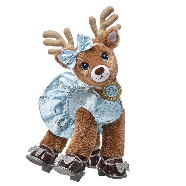 Santa S Reindeer Set Prancer Build A Bear Reindeer Build A Bear Bear Stuffed Animal